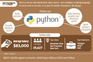 lenguaje python y sus oportunidades de empleo