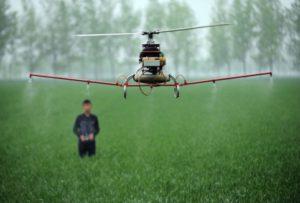 dron agricultura planeta del futuro