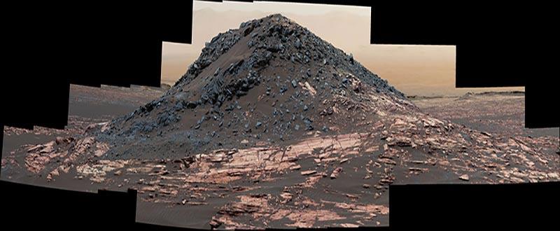 Monte en Marte