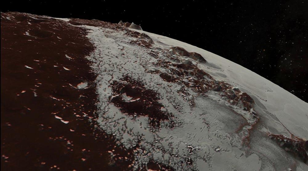 Superficie de Plutón