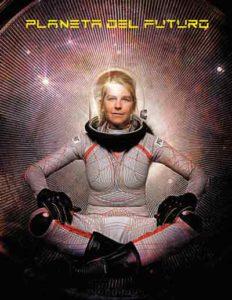 Traje astronauta del futuro