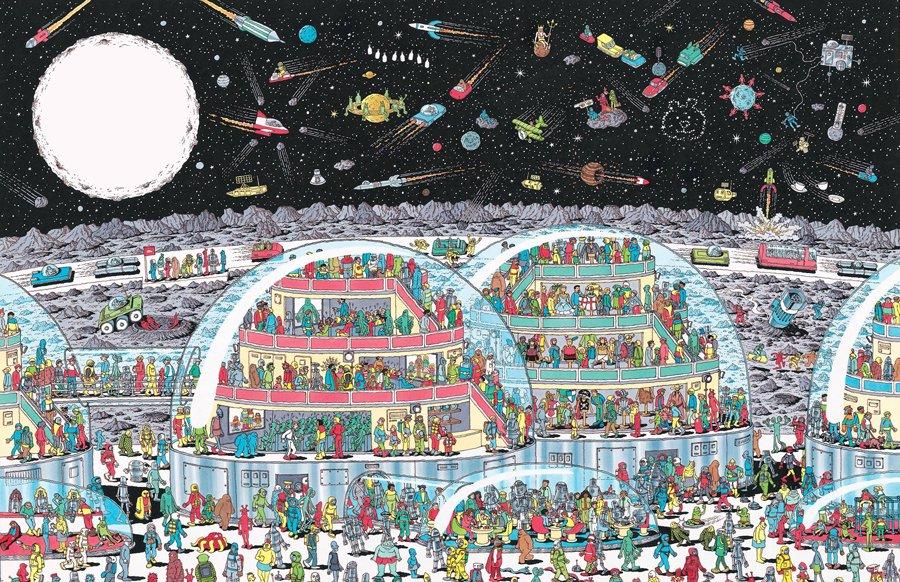 Donde esta Wally ayuda a tu cerebro