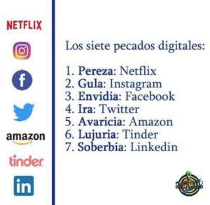 adjetivos de las redes sociales
