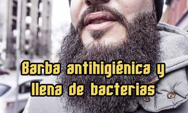 Barba antihigiénica y llena de bacterias, ¿mito o realidad?