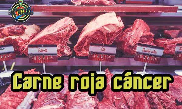 ¿Las rojas rojas, procesadas y el embutido producen cáncer?