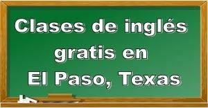 Clases de inglés para adultos gratis en El Paso, Texas