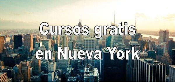 Cursos gratis en Nueva York