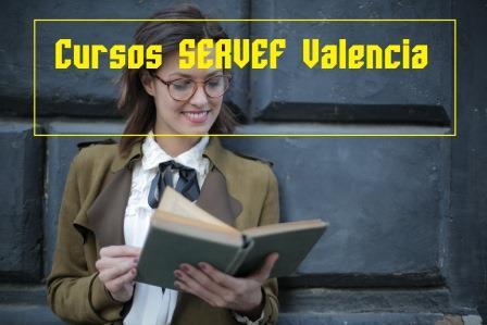 Cursos SERVEF Valencia: cursos para desempleados